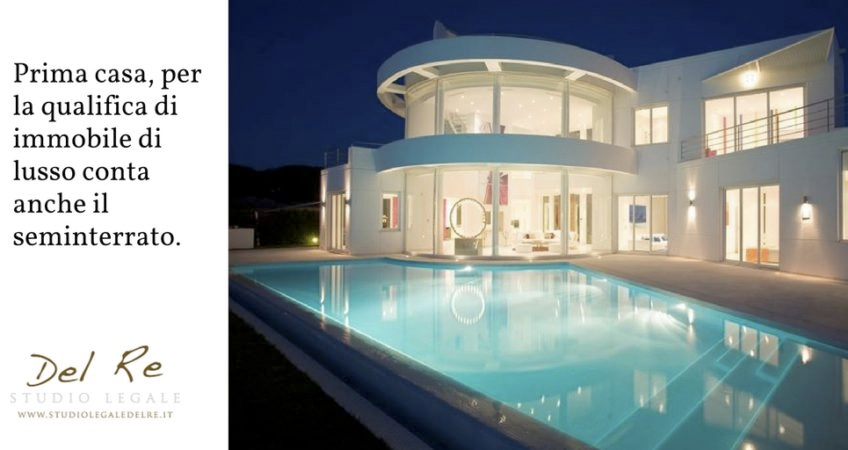 Prima casa per la qualifica di immobile di lusso conta - Diritto di prelazione su immobile confinante ...